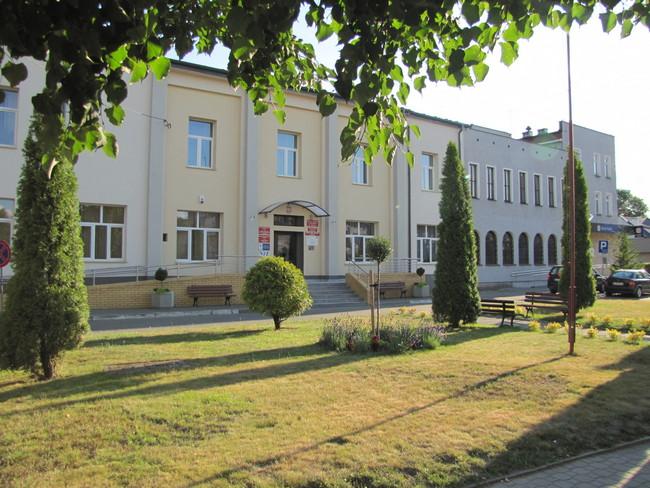 budynek Urzędu Miejskiegowejście od ul. Piłsudskiego 22