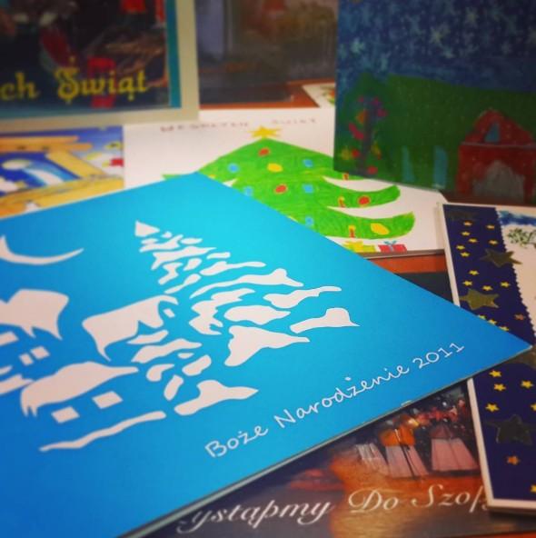 2016-11-22 kolekcja kartek Boże Narodzenie 2016