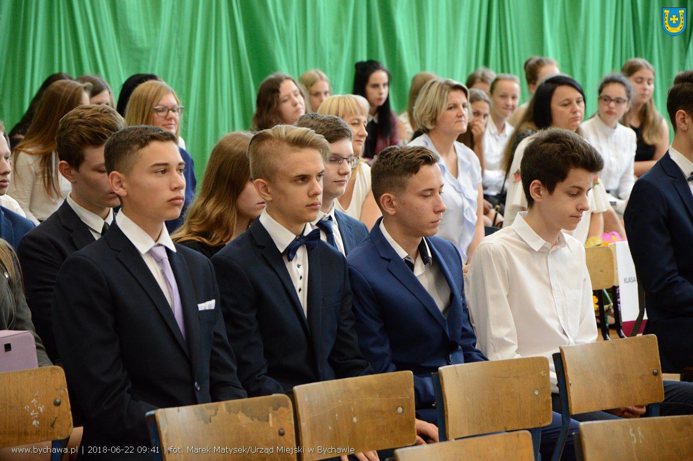 Zakończenie roku szkolnego 2017/2018 w Szkole Podstawowej w Bychawie
