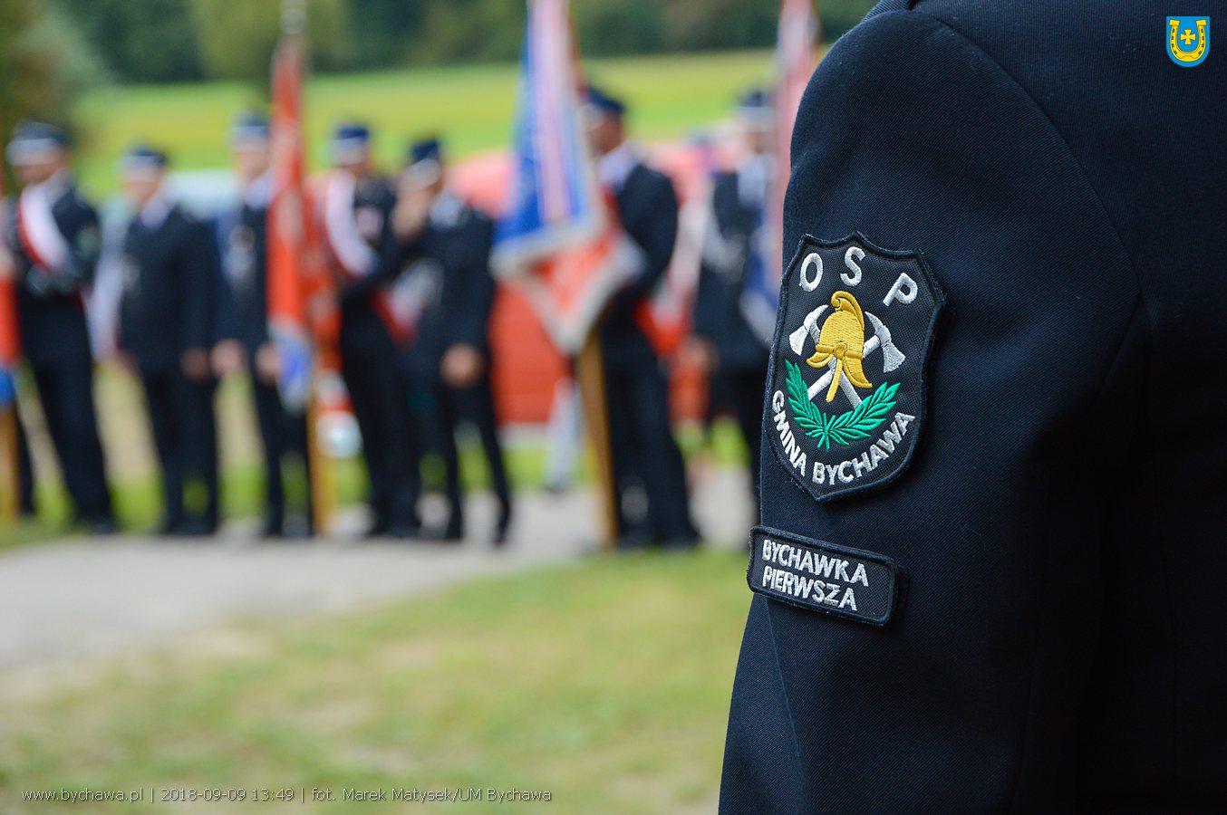Jubileuszowe obchody 50-lecia Ochotniczej Straży Pożarnej w Bychawce Pierwszej – zdjęcia