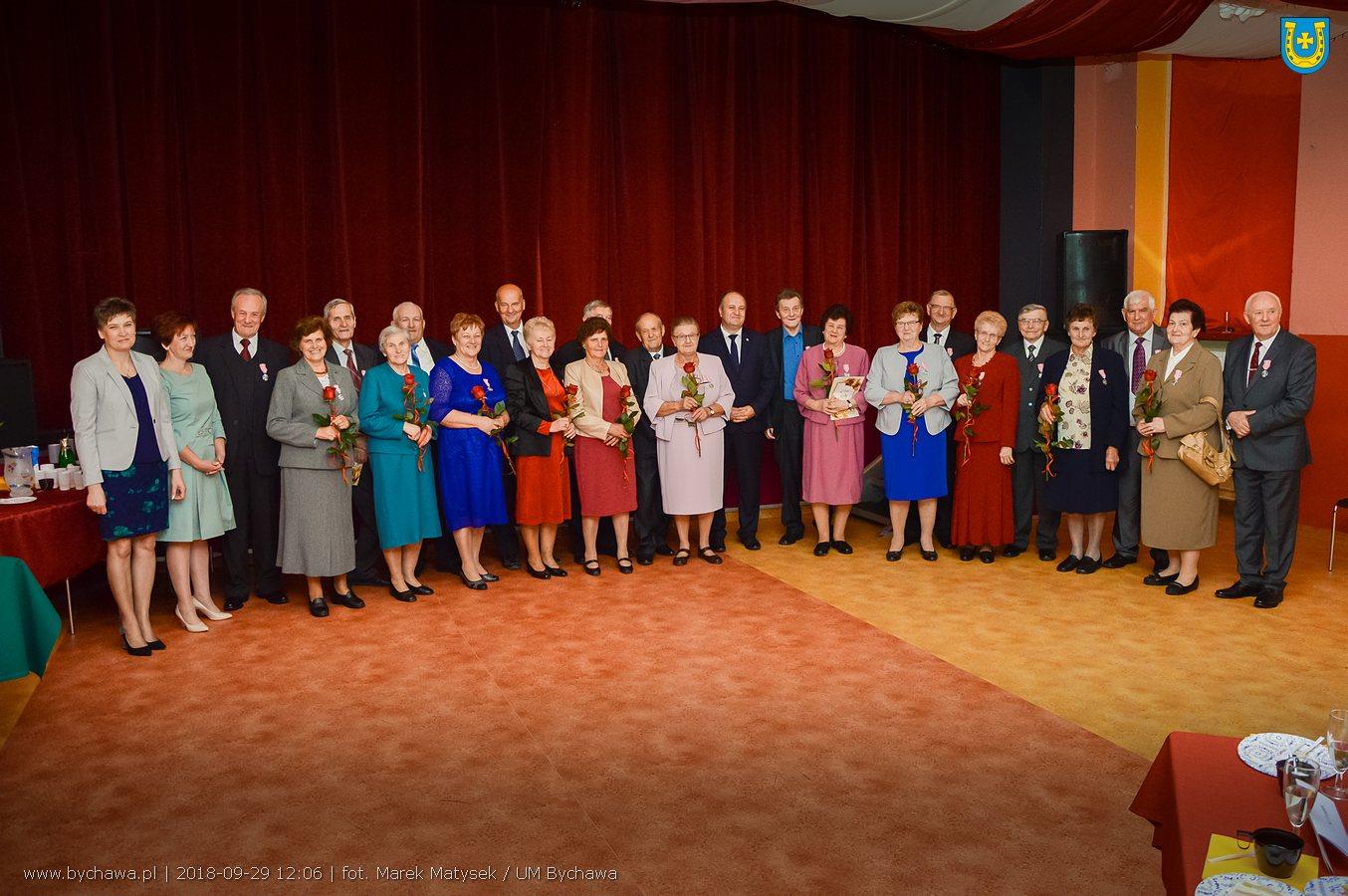 50 lat razem – jubileusz małżeństwa w Bychawskim Centrum Kultury