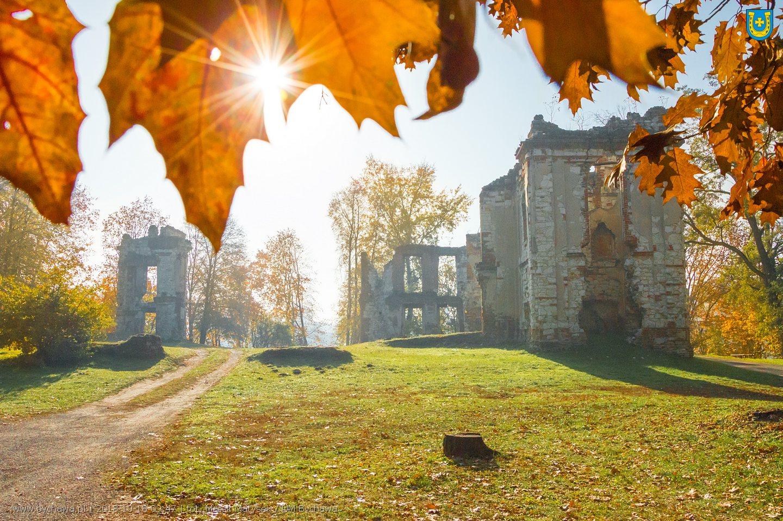Jesienna Bychawa z drona – zdjęcia