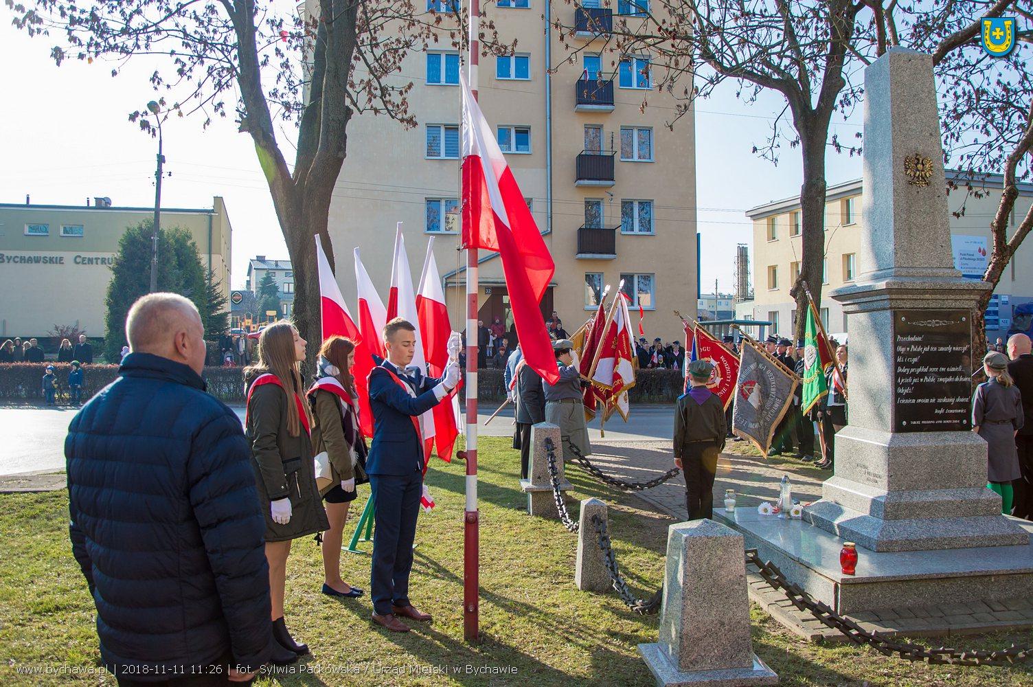 Bychawskie obchody 100. rocznicy odzyskania niepodległości