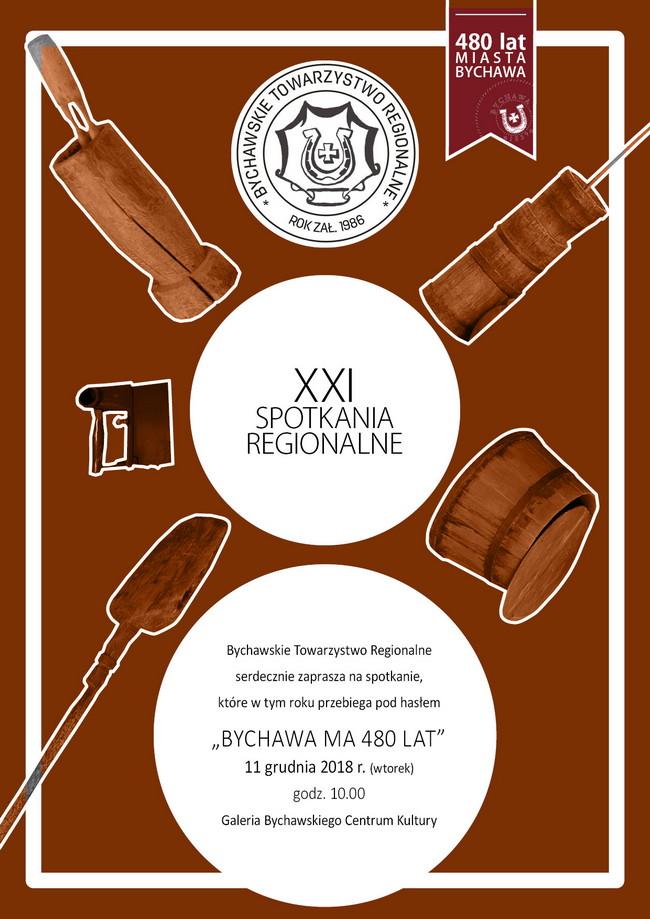 XXI SPOTKANIA REGIONALNE – zaproszenie
