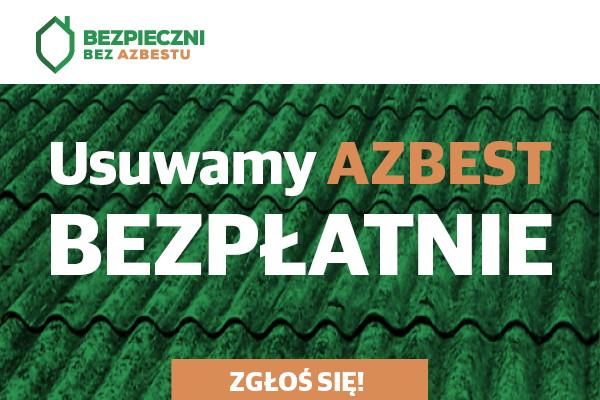 Przyjmowanie zgłoszeń na usuwanie azbestu od 25 maja do 3 lipca 2020 roku