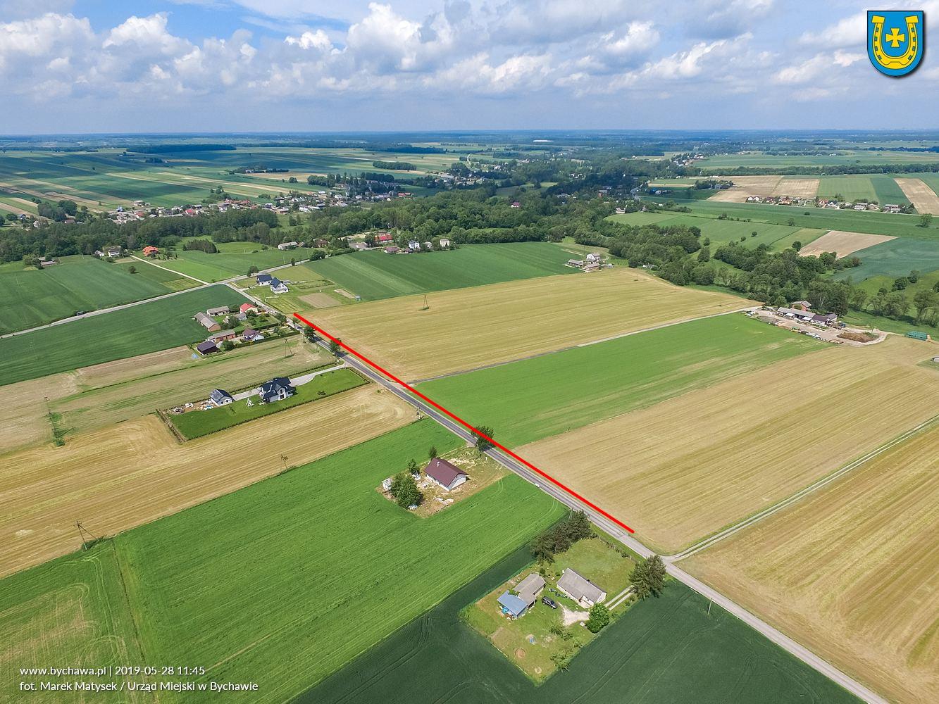 Przebudowa drogi gminnej  w miejscowości Bychawka Druga-Kolonia – zakończona