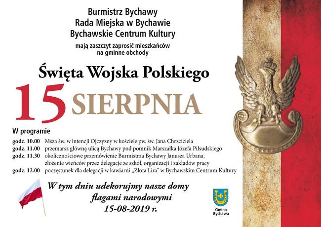 Obchody Święta Wojska Polskiego w Bychawie – 15 sierpnia 2019 r.