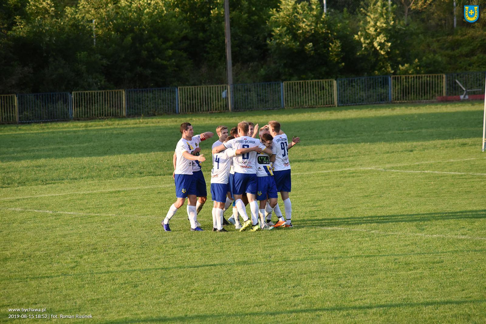 Granit Bychawa wygrywa  mecz na naszym stadionie z Górnikiem II Łęczna – 15 sierpnia 2019 roku