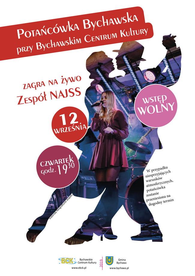 Potańcówka Bychawska z zespołem Najss w czwartek 12 września