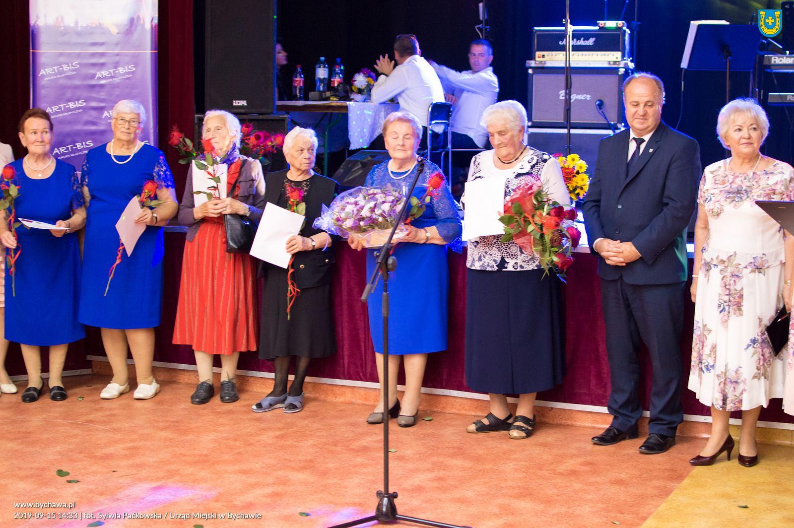 45 lat Klubu Seniora z Bychawy