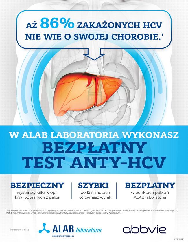 Do końca roku mieszkańcy Bychawy mają możliwość wykonania darmowego i anonimowego testu na obecność wirusa HCV