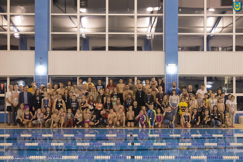 III pływackie zawody rodzinne UKP BYCHAWA