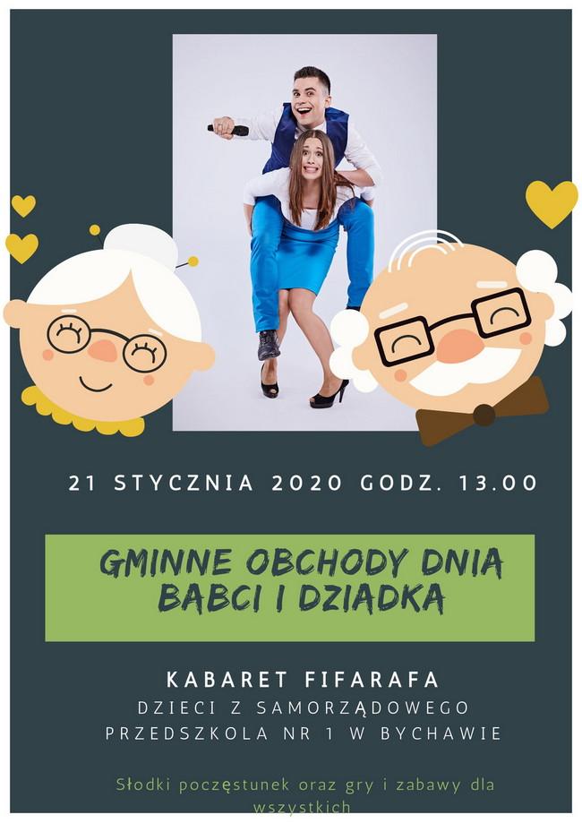 GMINNE OBCHODY DNIA  BABCI I DZIADKA – Bychawa 2020 – zaproszenie