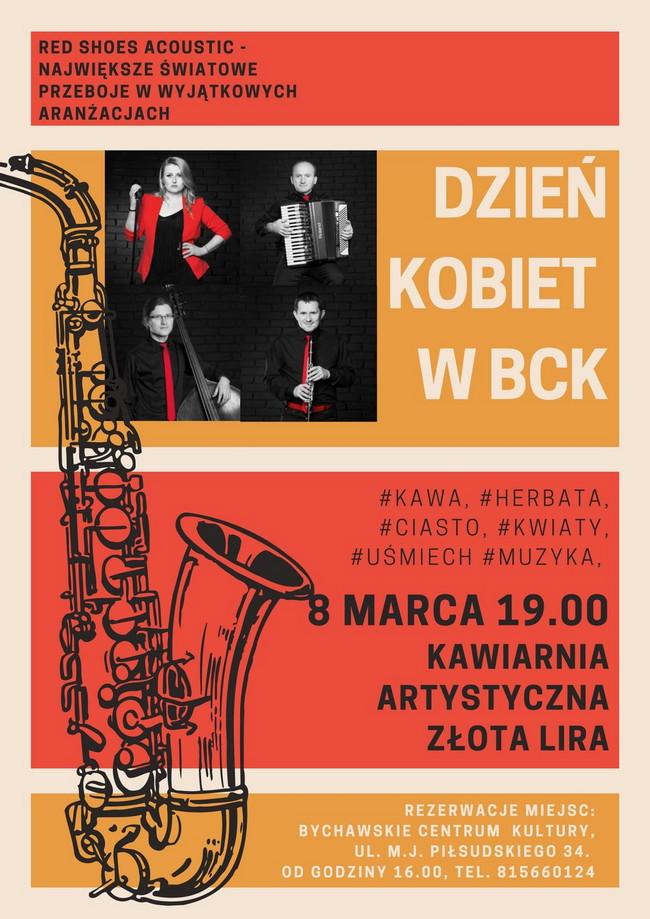 Dzień Kobiet 2020 w BCK  – zaproszenie