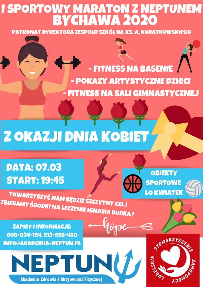 I Sportowy Maraton z Neptunem – Bychawa 2020 – zaproszenie