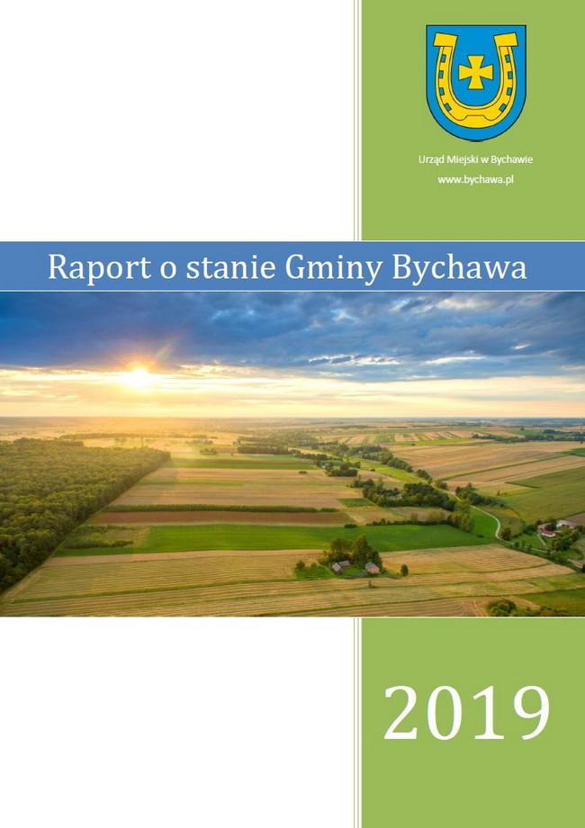 okładka raportu o stanie gminy Bychawa