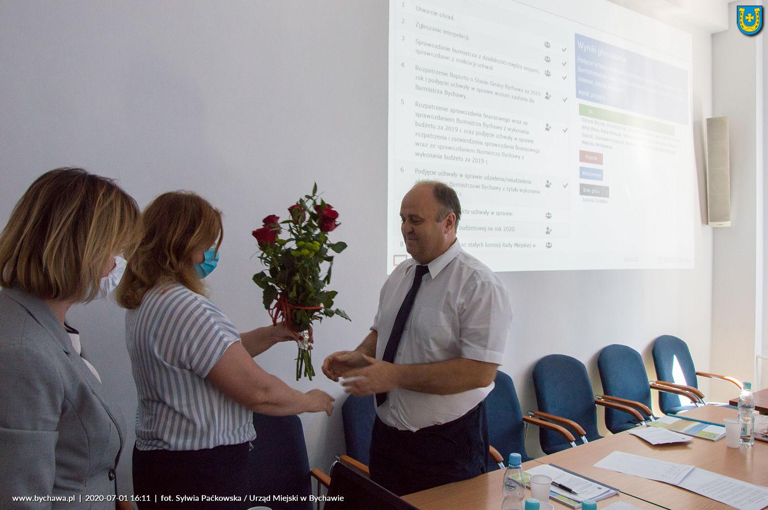 Absolutorium dla Burmistrza Bychawy Janusza Urbana – jednogłośnie!