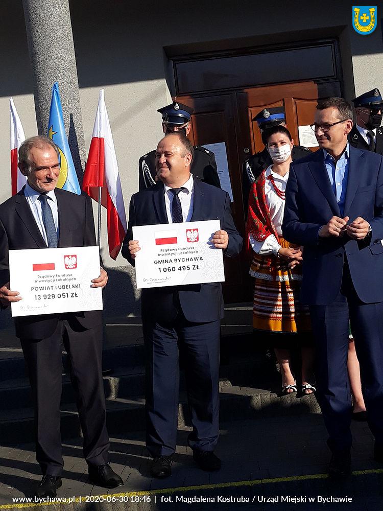 Ponad milion złotych dla Gminy Bychawa z Funduszu Inwestycji Samorządowych