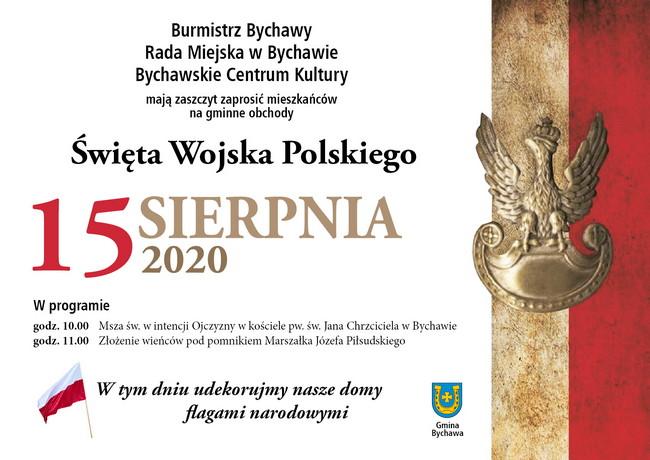 Święto Wojska Polskiego w Bychawie – 15 sierpnia 2020