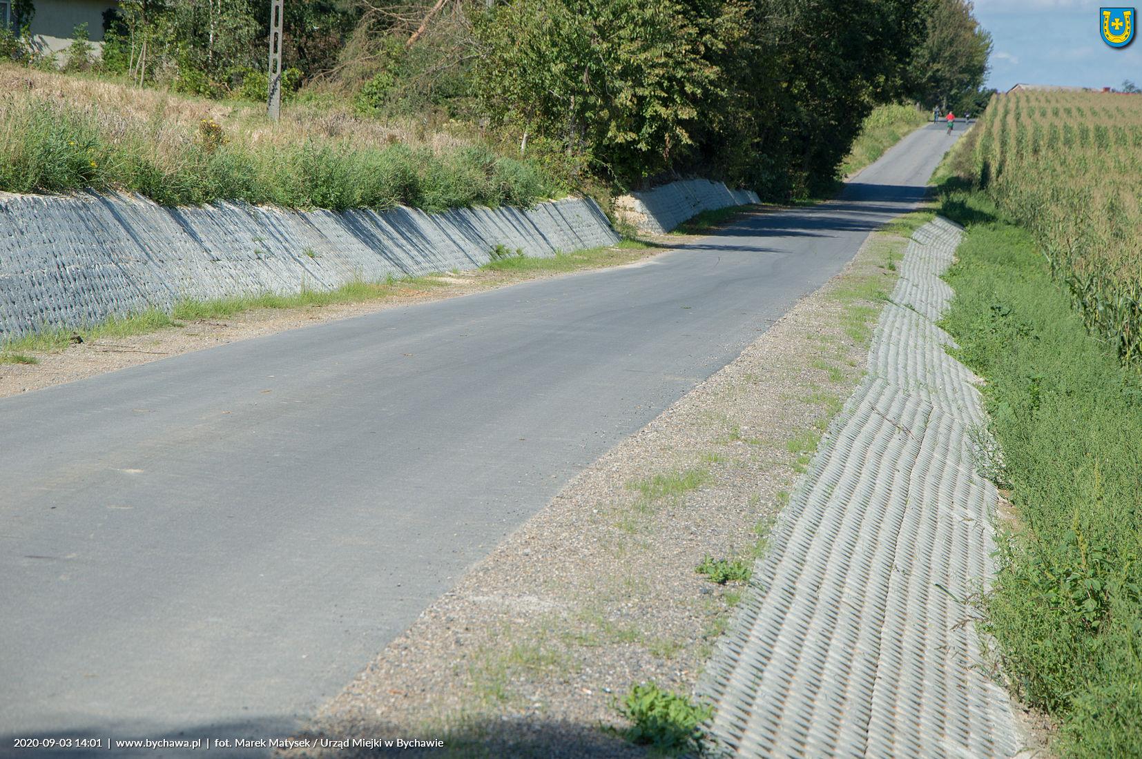 Zakończono przebudowę drogi gminnej w Olszowcu i Olszowcu-Kolonii