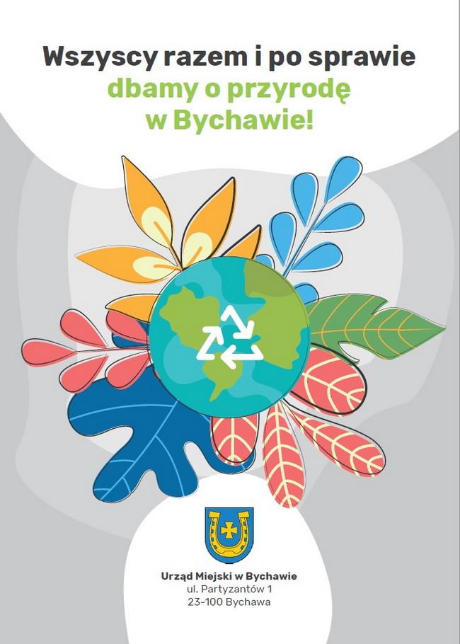 Przypomnienie, że na terenie gminy Bychawa nie wolno palić w ogniskach odpadów zielonych oraz innych odpadów komunalnych