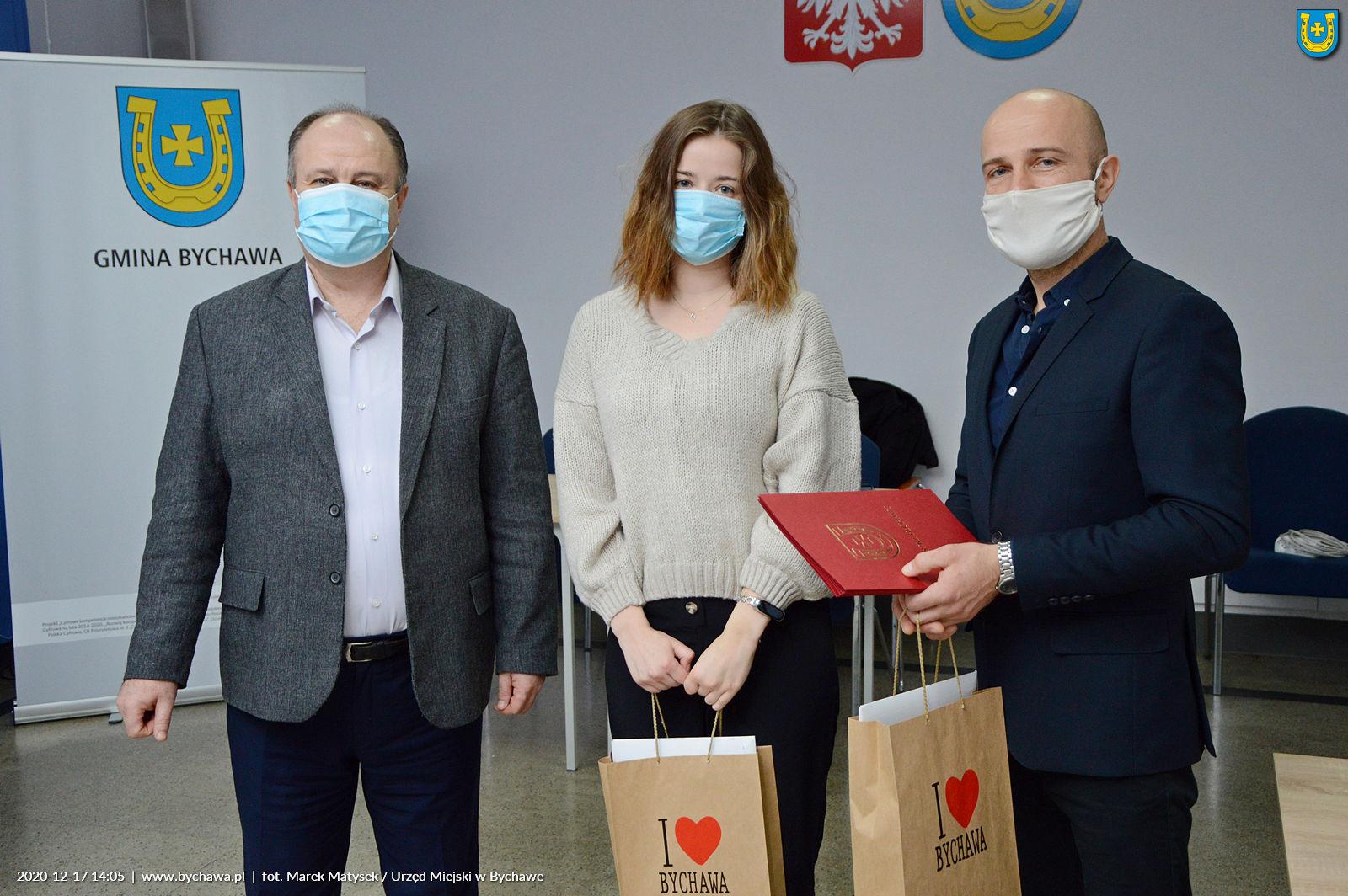 Wręczono nagrody Gminy Bychawa  za osiągnięcia w dziedzinie twórczości artystycznej, upowszechniania i ochrony kultury
