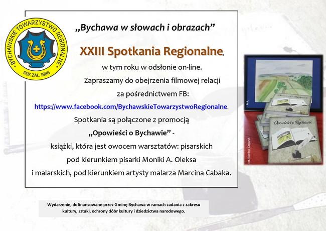 Bychawskie Towarzystwo Regionalne zaprasza do obejrzenia filmowej relacji z XXIII Spotkań Regionalnych
