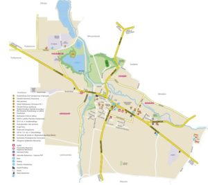 Mapa Bychawy