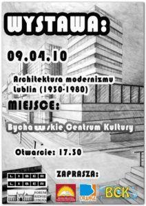 Wystawa – architektura modernizmu Lublin1930-1980 w BCK