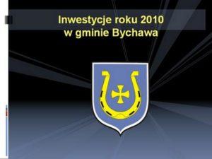 Inwestycje 2010