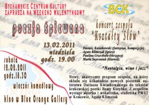 Zaproszenie – koncert w BCK