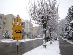 Zima piękna, ale niebezpieczna