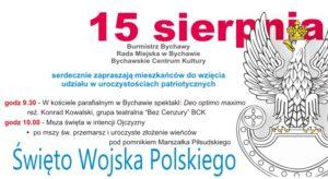 Święto Wojska Polskiego w Bychawie