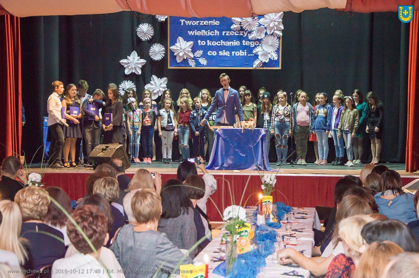 Bychawskie obchody Dnia Edukacji Narodowej