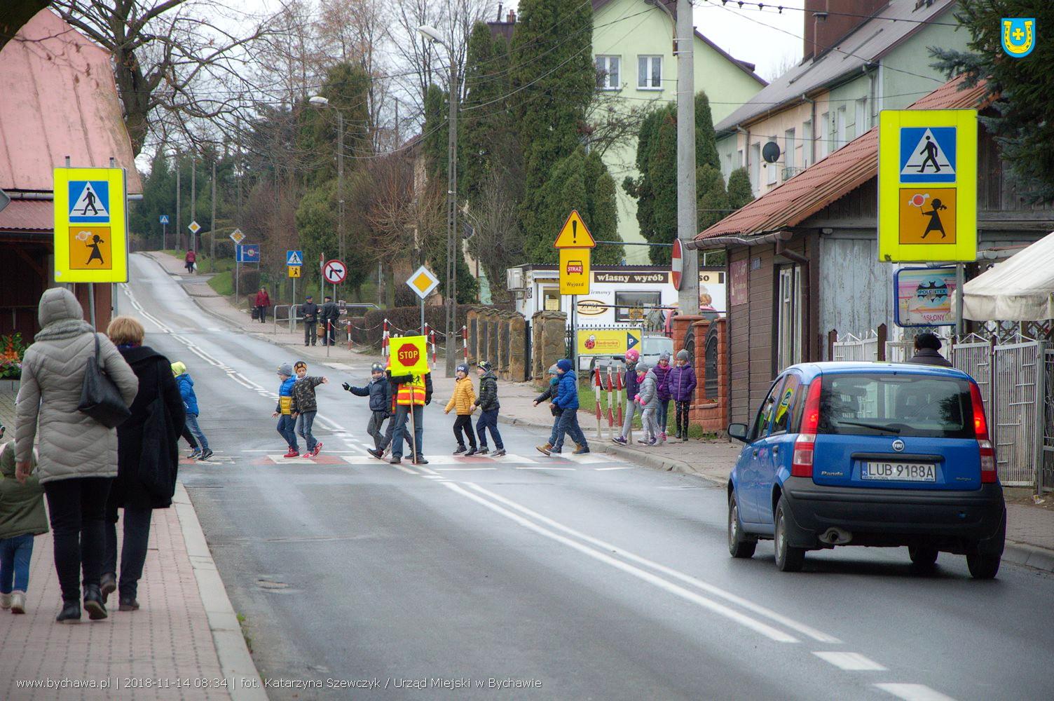 """""""Stopman"""" dba o bezpieczeństwo na przejściu dla pieszych!"""