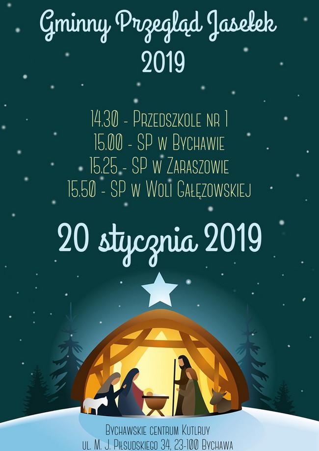 Gminny Przegląd Jasełek – Bychawa 2019