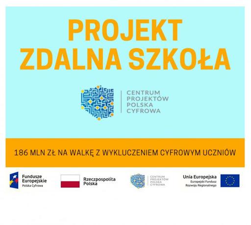Gmina Bychawa przekazała 39 komputerów do zdalnego kształcenia dla szkół.