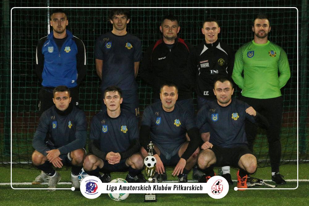 Granit II Bychawa z Pucharem Ligi LAKP 2020