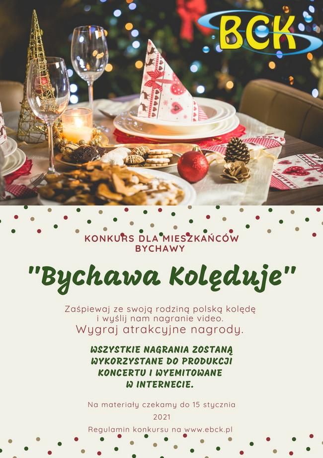 Bychawa kolęduje – domowy konkurs dla mieszkańców Bychawy