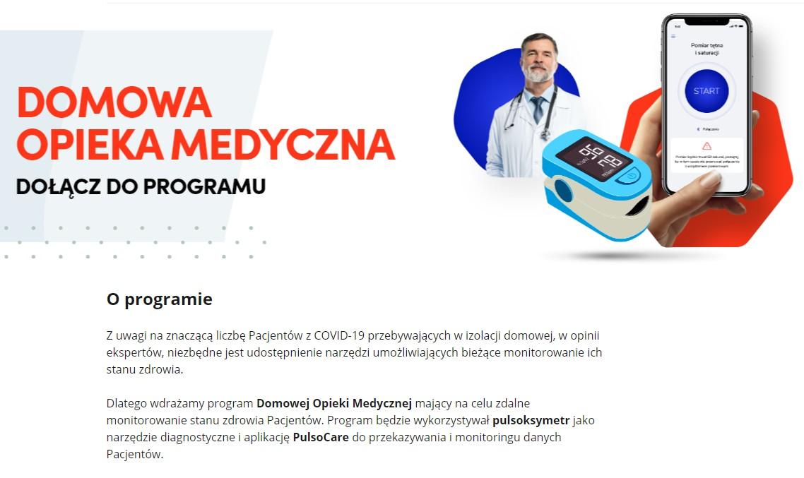 Informacja o programie DOM