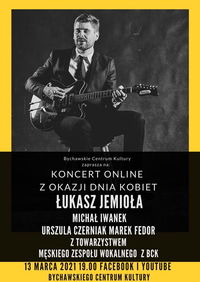Bychawskie Centrum Kultury zaprasza na koncert online 13 marca 2020 z okazji Dnia Kobiet