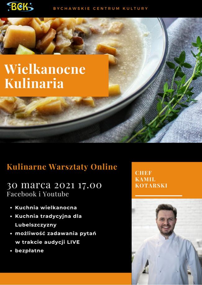 Wielkanocne Kulinaria – warsztaty online w BCK