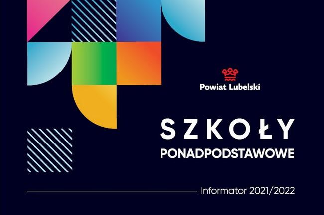 Oferta 6 szkół ponadpodstawowych w jednym informatorze na rok szkolny 2021/2022