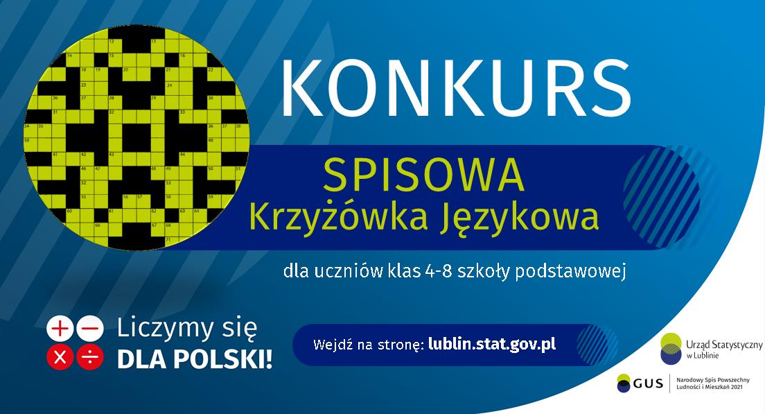 """Konkurs dla uczniów klas 4-8 szkoły podstawowej pt. """"Spisowa krzyżówka językowa"""" II EDYCJA"""