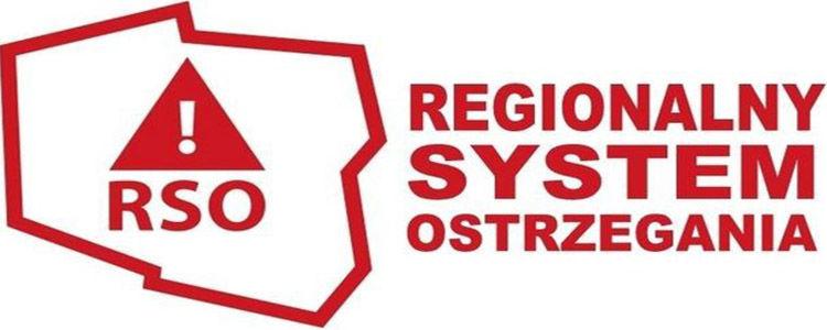 Aplikacja<br>Regionalnego Systemu Ostrzegania<br>powiadomi Cię o zagrożeniach