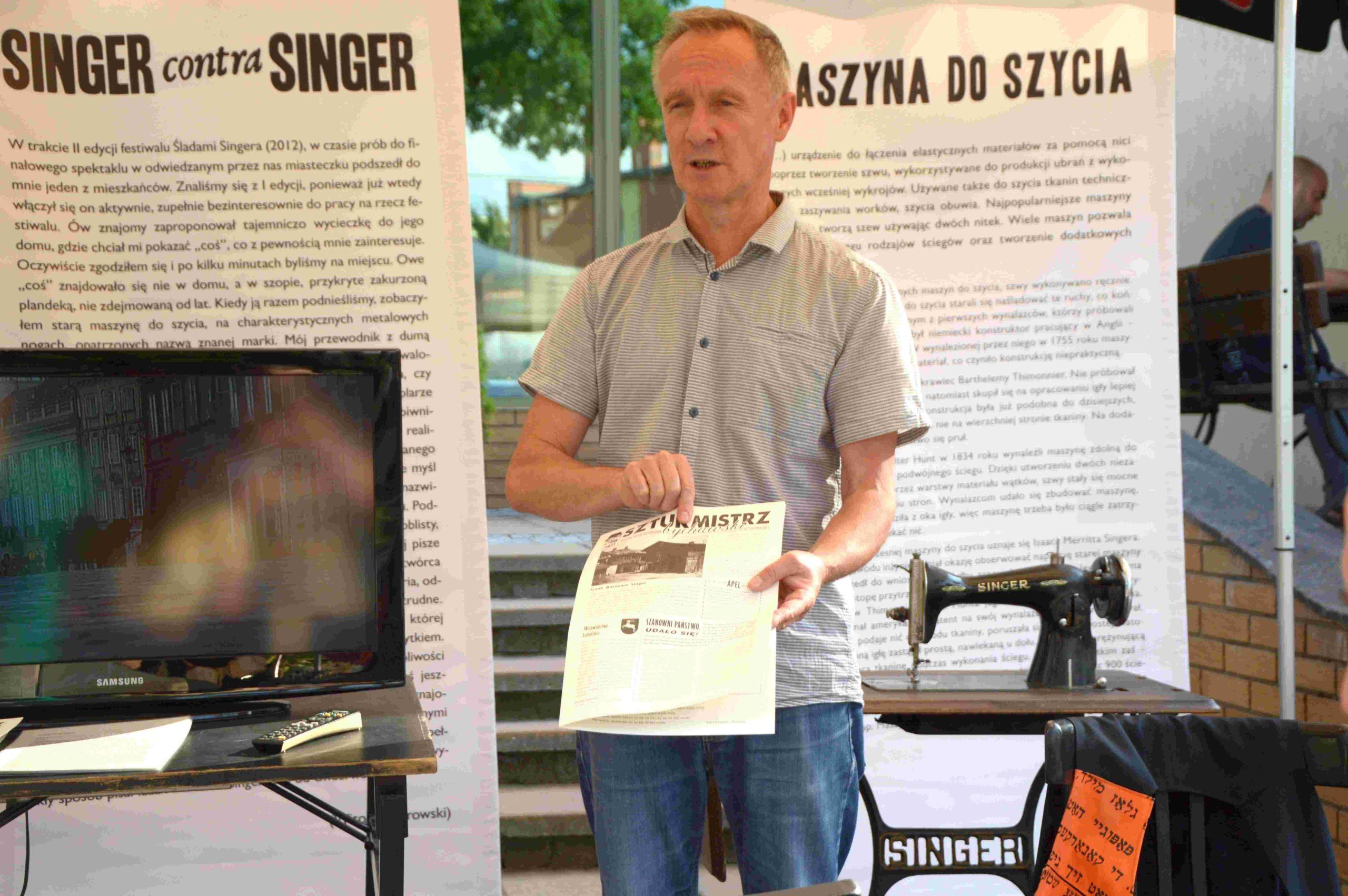 """Festiwal """"Śladami Singera"""" już po raz dziesiąty odwiedził Bychawę!"""