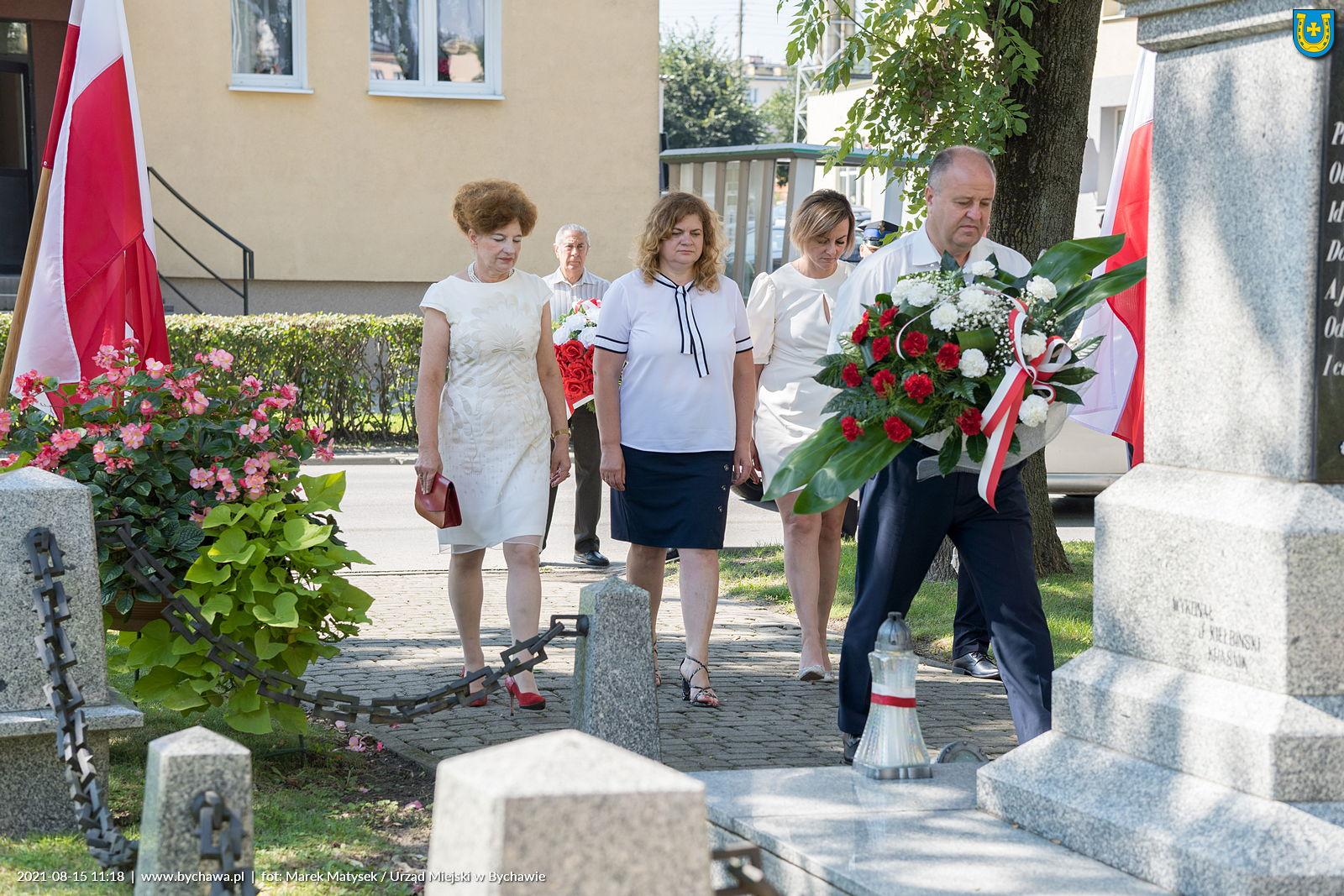 Obchody Święta Wojska Polskiego – Bychawa 2021