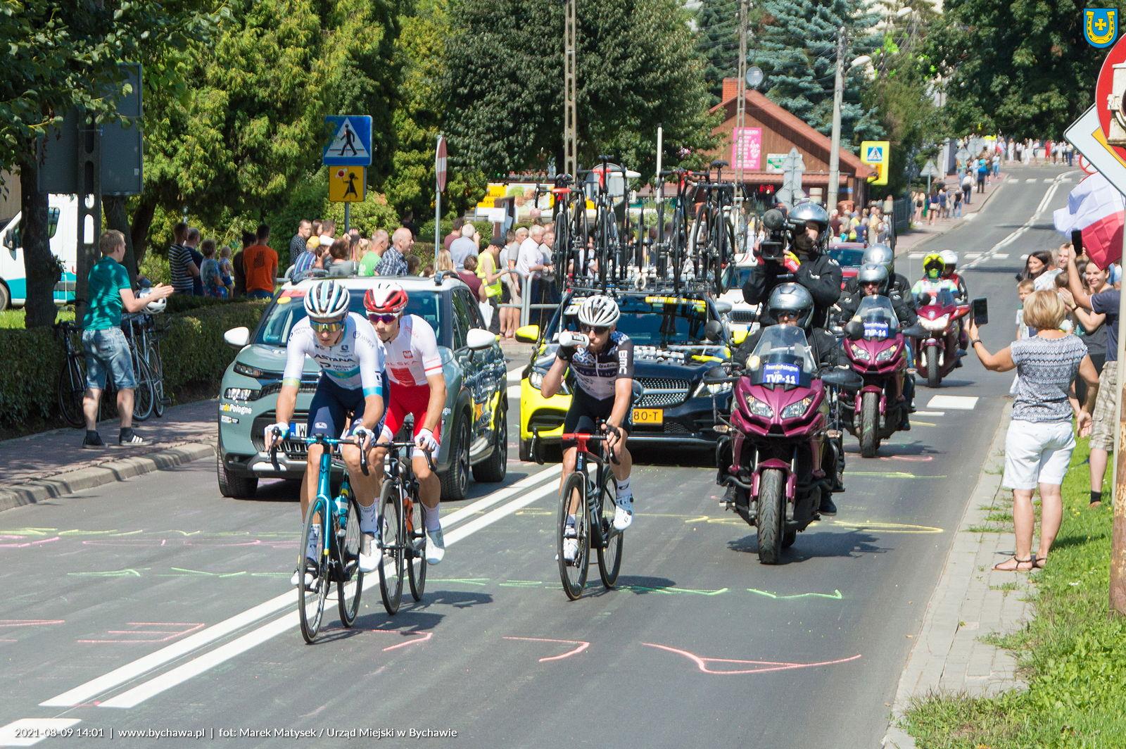 78. Tour de Pologne –  przejazd przez Bychawę