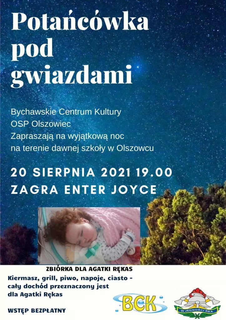 POTAŃCÓWKA POD GWIAZDAMI – zaproszenie do Olszowca