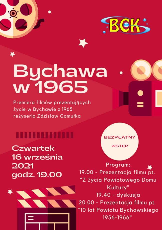 Premiera filmów o Bychawie z 1965 roku w Bychawskim Centrum Kultury połączona z dyskusją o dawnych czasach w czwartek 16 września